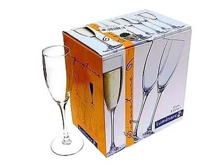 Фужеры для шампанского из богемского стекла Богемия!