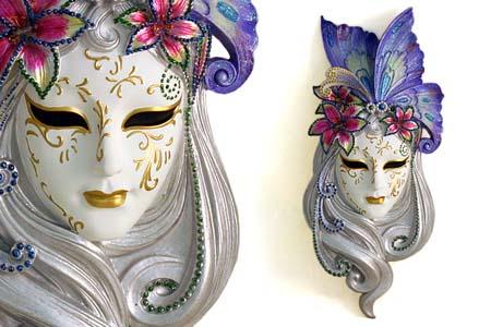 женские венецианские маски фото