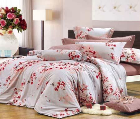 Сатиновое постельное белье - Сакура 1 61a686cf0b752