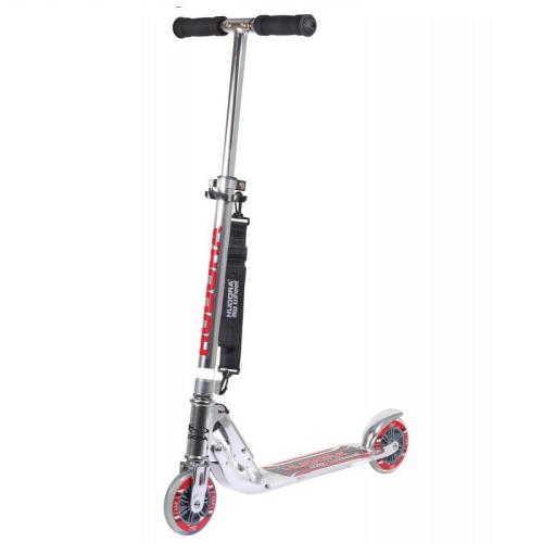 Самокат HUDORA Big Wheel  125 silver, серебряный